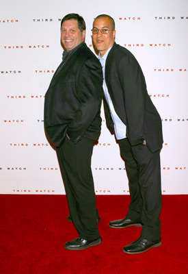 Coby Bell and Skipp Sudduth at an event for Third Watch (1999)