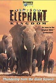 Africa's Elephant Kingdom Poster