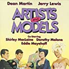 Shirley MacLaine, Jerry Lewis, Dean Martin, and Dorothy Malone in Artists and Models (1955)