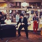 """The Blues Brothers"" Dan Aykroyd, Ray Charles, John Belushi"