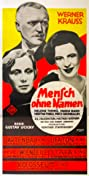 Mensch ohne Namen (1932) Poster