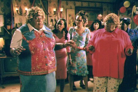 The real Big Momma and the impostor meet