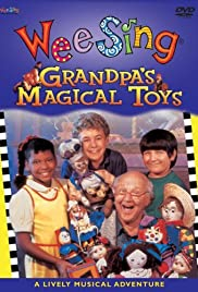Grandpa's Magical Toys Poster