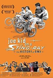 Joe Kid on a Stingray Poster