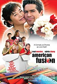 Esai Morales and Sylvia Chang in American Fusion (2005)