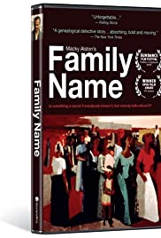 Family Name Poster