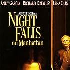 Richard Dreyfuss and Andy Garcia in Night Falls on Manhattan (1996)