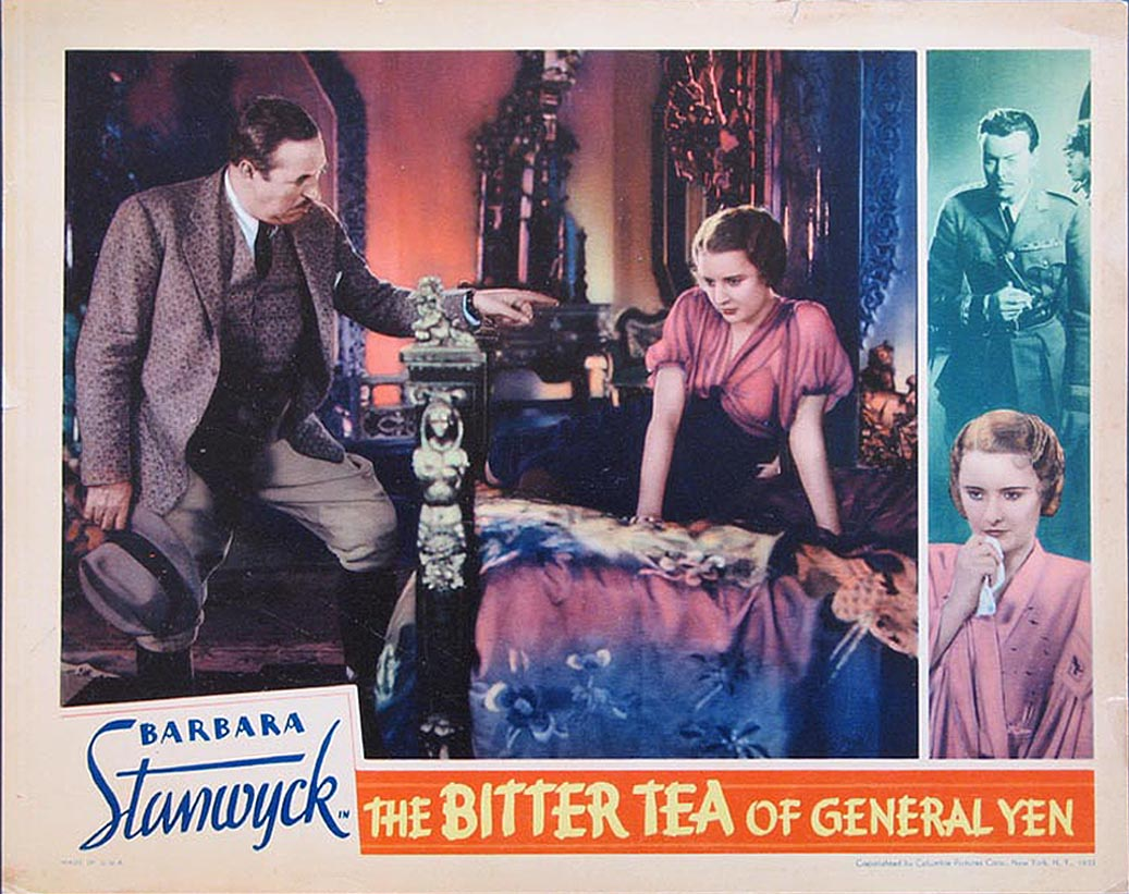 Barbara Stanwyck and Walter Connolly in The Bitter Tea of General Yen (1932)