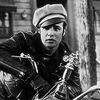 """Marlon Brando in """"The Wild One"""" 1954 Columbia"""