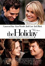 Cameron Diaz, Jude Law, Kate Winslet, and Jack Black in The Holiday (2006)