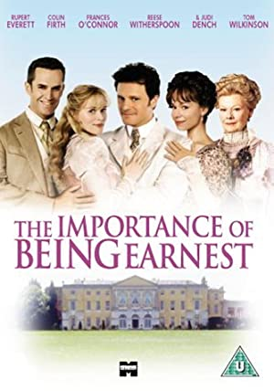 The Importance of Being Earnest Poster Image