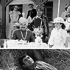 Aamir Khan, Javed Khan, Kulbhushan Kharbanda, Rachel Shelley, and Gracy Singh in Lagaan: Once Upon a Time in India (2001)