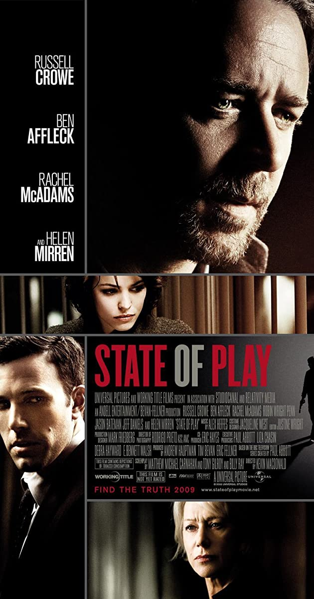 Voir State of Play - Stand der Dinge (2009)             GRATUIT HD