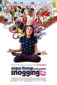 Eleanor Tomlinson, Georgia Groome, Kimberley Nixon, and Manjeeven Grewal in Angus, Thongs and Perfect Snogging (2008)
