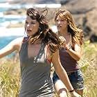Milla Jovovich and Kiele Sanchez in A Perfect Getaway (2009)
