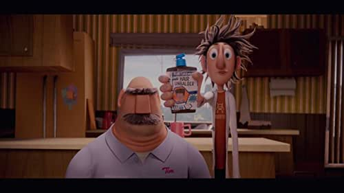 Inspired by the children's book, Cloudy with a Chance of Meatballs focuses on a town where food falls from the sky like rain.