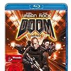 Dwayne Johnson and Karl Urban in Doom (2005)