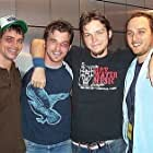 """Chad McKnight, Liam O'Neill, Director Jacob Gentry, and Alex A. Quinn during the filming of """"Last Goodbye"""""""