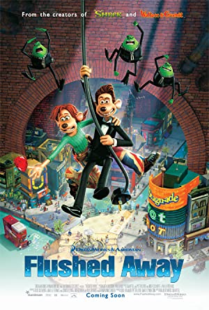 Flushed Away (2006) Dual Audio {Hin-Eng} Movie Download | 480p (300MB)