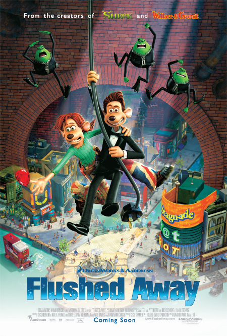 Flushed Away (2006) BluRay 480p, 720p & 1080p