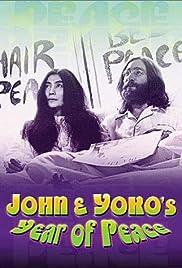 John & Yoko's Year of Peace Poster