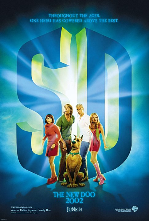 Matthew Lillard, Sarah Michelle Gellar, Linda Cardellini, and Freddie Prinze Jr. in Scooby-Doo (2002)