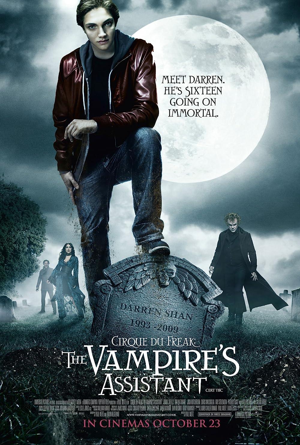The Vampire's Assistant (2009) Hindi Dual Audio 720p | 480p BRip x264 Esub