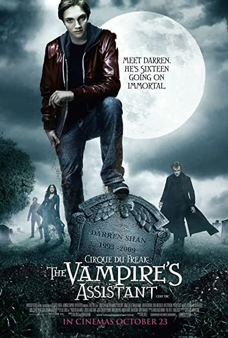 [PG-13] Cirque du Freak: The Vampire's Assistant (2009) Dual Audio Blu-Ray - 480P | 720P - x264 - 350MB | 700MB - Download & Watch Online  Movie Poster - mlsbd