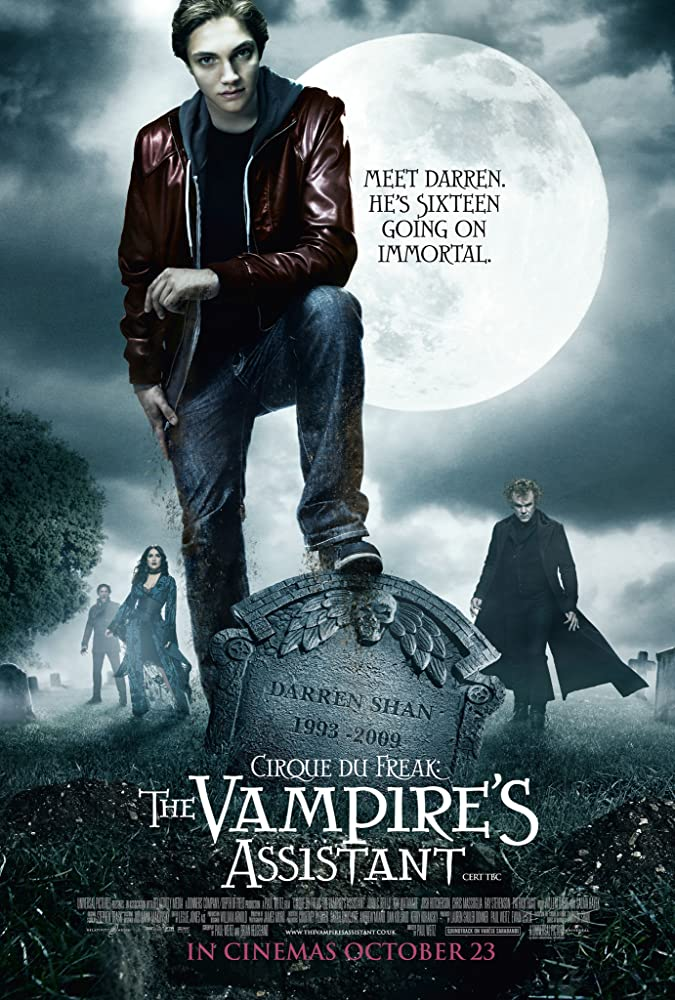 Cirque du Freak: The Vampire's Assistant 2009 Dual Audio Hindi ORG 720p BluRay 900MB Download