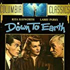 Rita Hayworth, James Gleason, and Larry Parks in Down to Earth (1947)