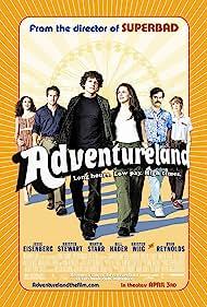 Ryan Reynolds, Jesse Eisenberg, Bill Hader, Kristen Stewart, Kristen Wiig, and Margarita Levieva in Adventureland (2009)