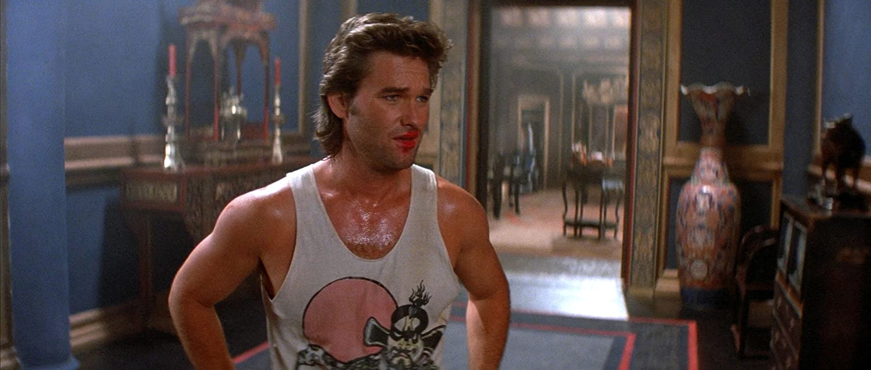 Kurt Russell in Big Trouble in Little China (1986)