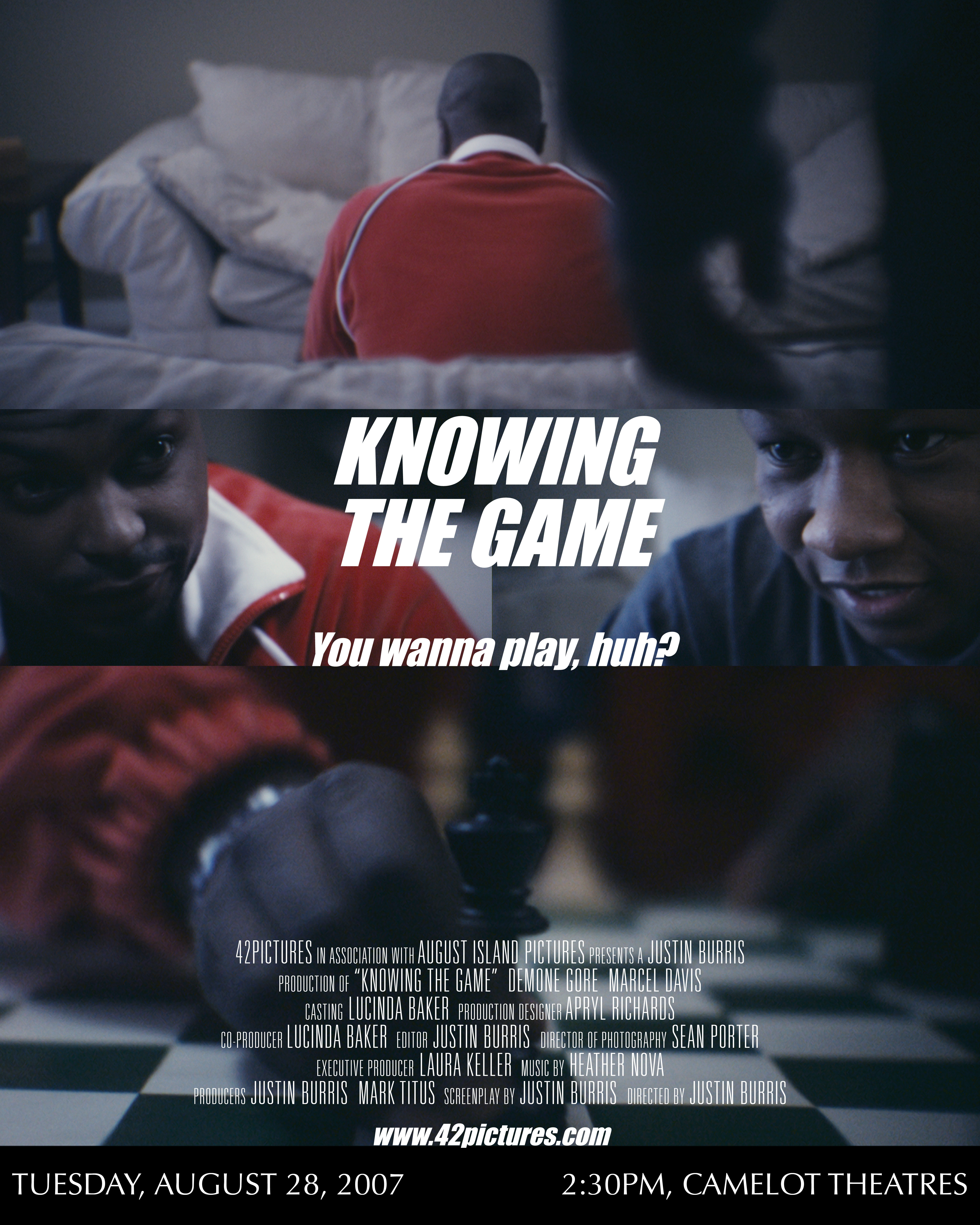 Knowing The Game 2007 Imdb