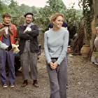Frances (Diane Lane, second from right) experiences the agony and the ecstasy of remodeling her Tuscan villa with the help of contractor Nino (Massimo Sarchielli, far left), handymen Pawel (Pawel Szajda, second from left) and Jerzy (Valentine Pelka, third from right), and friend and realtor Signor Martini (Vincent Riotta, far right)