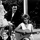 """Elvis Presley and Michele Carey in """"Live a Little, Love a Little,"""" MGM, 1968."""