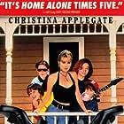 Christina Applegate, Josh Charles, Jayne Brook, and Danielle Harris in Don't Tell Mom the Babysitter's Dead (1991)
