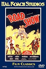 Charles Butterworth, John Hubbard, Patsy Kelly, Carole Landis, Adolphe Menjou, Margaret Roach, and George E. Stone in Road Show (1941)