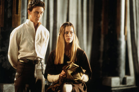 James McAvoy and Jessica Brooks in Children of Dune (2003)