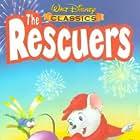 Eva Gabor, James MacDonald, and Bob Newhart in The Rescuers (1977)