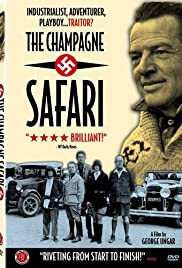 The Champagne Safari Poster