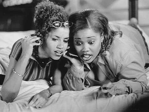 Mari Morrow and Natalie Desselle Reid in How to Be a Player (1997)