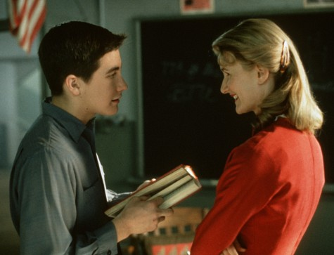Laura Dern and Jake Gyllenhaal in October Sky (1999)
