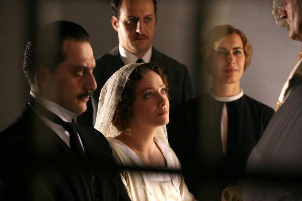 Giovanna Mezzogiorno, Fausto Russo Alesi, Filippo Timi, and Francesca Picozza in Vincere (2009)