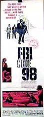 FBI Code 98 (1963) Poster