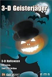 3-D Halloween Poster