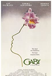 Gaby: A True Story Poster