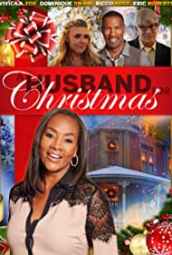 Vivica A. Fox, Eric Roberts, Dominique Swain, and Ricco Ross in A Husband for Christmas (2016)