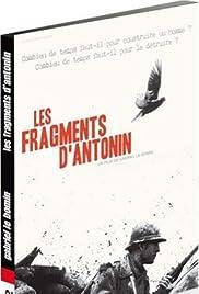 Les fragments d'Antonin Poster