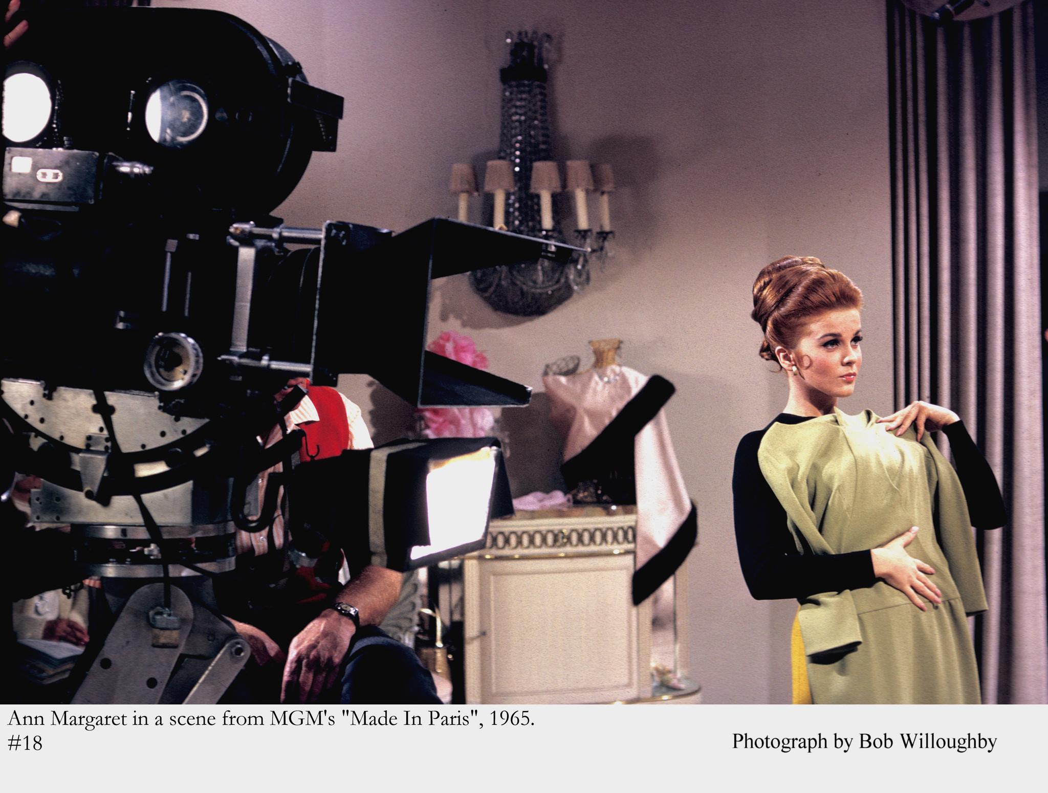 """Made in Paris"" Ann-Margret 1965 MGM"