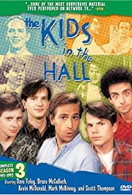 Dave Foley, Bruce McCulloch, Kevin McDonald, Mark McKinney, and Scott Thompson in The Kids in the Hall (1988)